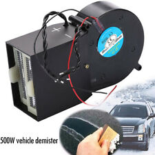 12V 500W Car Portable Electric Heater Heating Cooling Fan Defroster Demister