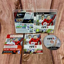 Ps3 Game FIFA 11 Football Game sony playstation in case with manual sports