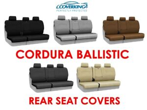 Coverking Cordura Ballistic Custom Fit Rear Seat Covers for GMC Acadia