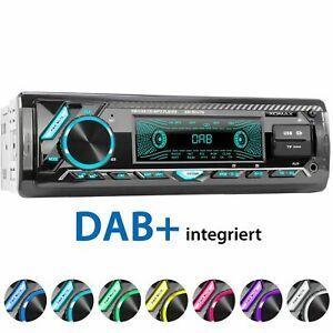 DAB+ Autoradio Bluetooth SD USB FM AuxIN Fernbedienung DAB Antenne 1DIN XOMAX