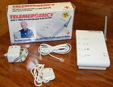 Telemergency Feel Secure Product (Pro-Elite 700C) Help is on the Way w/ a Button