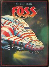 Chris Foss 21st Century Foss, 1978 Import Book of Great Sci-Fi Art Work, 1st Ed.