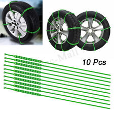 10X Anti-skid Chains For Snow Mud Car Truck Wheel Tyre Tire Cable Ties TPU lot