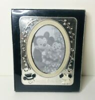 Disney HAPPILY EVER AFTER Wedding 5x7 Silver Photo Frame Mickey Minnie Mouse