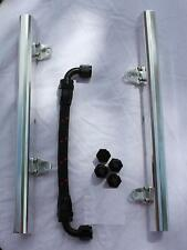 Z899 LS1 / LS6 -8AN high flow POLISHED fuel rails w/ fittings & crossover hose