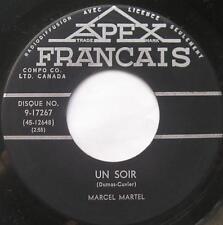 MARCEL MARTEL Un soir / La mer argenté FRENCH COUNTRY Canada QUEBEC 45 rpm Vinyl