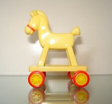 MINI McDonald's 1986 HORSE FOR/FITS MATTEL BARBIE BABY NURSERY DOLLHOUSE DOLL