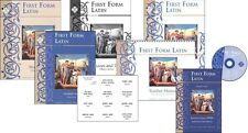 Memoria Press - First Form Latin Set with DVD and Flashcards