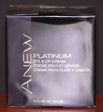 Avon Anew Platinum Anti-aging Eye & Lip Cream Age 60+ $36 NIB
