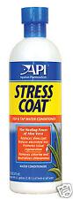 API Stress coat 480ml Aquarium Dechlorinator Fish tank Tap Water Safe Tropical