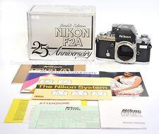 New in box Nikon F2A F2 A '25th Anniversary' silver limited edition camera
