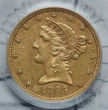 1895-S GOLD $5 Liberty Head W/Motto PCGS XF45 - No Reserve - .01 start!