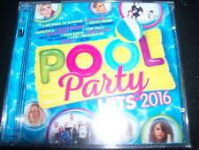 Pool Party Hits 2016 Various 2 CD (Ariana Grande Imagine Dragons Maroon 5 Sam Sm