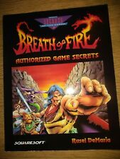 Breath of Fire  Strategy Guide Squaresoft Video Games Rare Collectible 1994