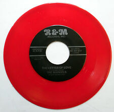 The MARKELS 45 The Letter Of Love RED VINYL R&M label MINT- Doo WOP mg937
