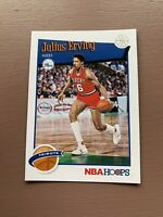 2019-20 NBA HOOPS PANINI JULIUS ERVING # 293  BASKETBALL CARD  76ers