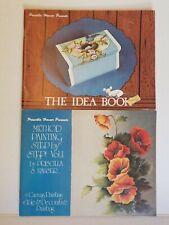 Priscilla Hauser Presents Method Painting & The Idea Book Canvas, Tole, decor