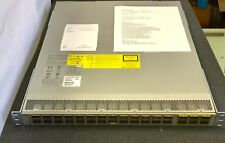 Cisco N9K-C9332PQ V03 Nexus9000 Chassis Switch Test Sheet Included