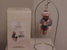 """Thomas Blackshear's Ebony Visions """"The Wise Man"""" Ornament NIB"""