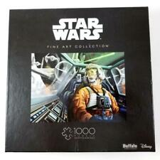 Star Wars Fine Art Collection Puzzle 1000 Piece Baptism by Fire Luke Skywalker?