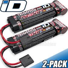 2-PACK Traxxas 8.4V 5000mAh 7-Cell Flat NiMH Battery with ID, 2960x SLASH TRX-4