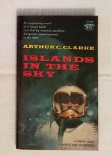ISLANDS IN THE SKY ~ Arthur C. Clarke ~ 1960 Signet PB ~ Cover by P. Lehr
