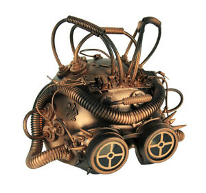Scratch & Dent Steampunk Cepholopod Cosplay Half Mask With Goggles