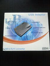 USB TO RJ11 Converter *BRAND NEW -RETAIL BOXED*