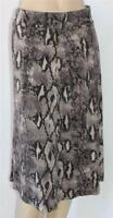 CROSSROADS Brand Reptile Print Pull On Day Skirt Size S BNWT [SM75]