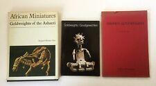 Ashanti Goldweights, 3 Books, African Art Miniatures, Ghana, Ivory Coast