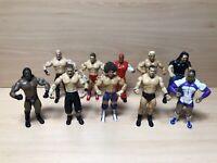 x10 WWE Jakks Ruthless Agression Wrestling Figure Bundle John Cena Kane MVP Rey