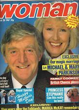 WOMAN 28 MAR 1987 MICHAEL & MARY PARKINSON PRINCESS STEPHANIE PRINCESS ANNE