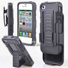 360° Panzer Case Schutzhülle Gürtelclip Ständer Für iPhone Samsung & alle Handy