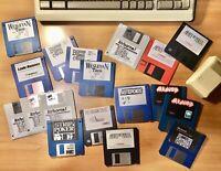 Vintage GAMES Macintosh  Floppy Disks 400K 800K STRIP POKER, STAR WARS, TETRIS