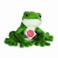 Bauer 10150 Frosch Tiere mit Herz Plüsch Kuscheltier ca 15cm