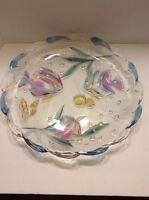 "Savoir Vivre #WY060 (Mikasa) Key Largo Tropical Fish Round Platter Colorful 15"""