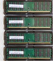 ***SAMSUNG 16GB (4 X 4 GB) DDR2 RAM PC2-6400 800 MHz RAM AMD Arbeitsspeicher ***