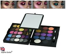 39 Colour WINKING EYE Shadow Make Ladies Up Set Cosmetic Sparkle Eyeshadows UK