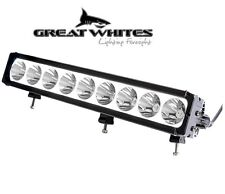 Great Whites 9 LED Long Distance Driving Light with Halo Submersible Shockproof