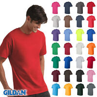 NEW Gildan T-Shirt Men's Short Sleeve 6.1 oz Ultra Cotton Size/Color Choice 2000