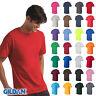 Gildan Mens Ultra Cotton Short Sleeve T-Shirt Tee Sizes S-5XL Multi color 2000
