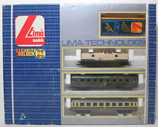 LIMA #36033 VTG GREEK OSE TRAIN SET + ENGINE HO SCALE ITALY MADE MISP ULTRA RARE