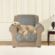 Sure Fit Microfiber Pet Chair  GRAY Throw 2 pcs