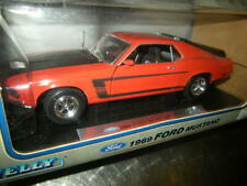 1:18 Welly Ford Mustang BOSS 302 1969 in OVP