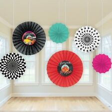 50's Style Party Fan  Decoration Rock & Roll Grease Vinyl Birthday Party 291276