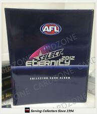 AFL TRADING CARD OFFICIAL ALBUM--2012 Select AFL Eternity Trading Card Album