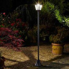 Solar Lamppost Bright 100 Lumen Traditional Coach House Street Light Garden