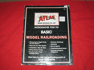 Atlas Introduces You to Basic Model Railroading - Booklet - 1990
