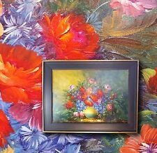 BODO KAYREL 13 Viena Excepcional Naturaleza muerta floral firmado