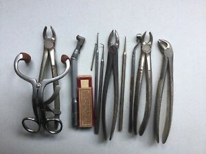 Vintage Dental Tools